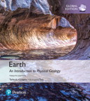 Earth: An Introduction to Physical Geology, Global Edition, 12/e [book cover]