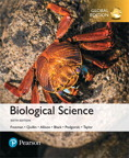 Biological Science, Global  Edition, 6/e [book cover]