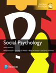 Social Psychology, Global Edition, 9/e [book cover]