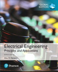 Electrical Engineering: Principles & Applications, Global Edition, 7/e [book cover]