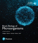 Brock Biology of Microorganisms, Global Edition, 15/e [book cover]