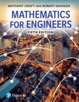 Mathematics for Engineers, 5/e [book cover]