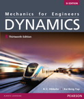 Mechanics for Engineers: Dynamics, SI Edition, 13/e [book cover]