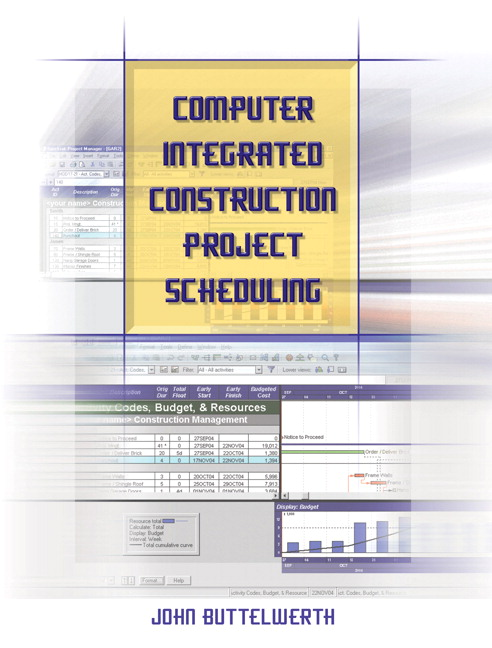 Computer Integrated Construction Project Scheduling Buttelwerth, John published
