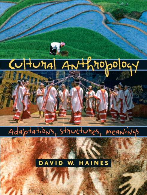 Download this Cultural Anthropology Adaptations Structures Meanings David Haines picture