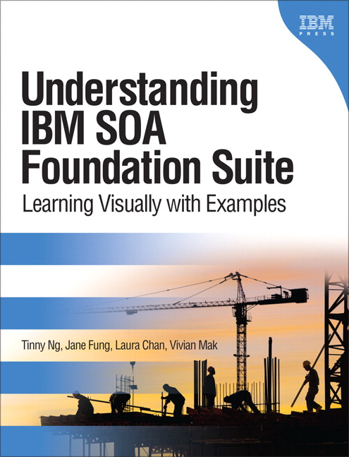 Understanding IBM SOA Foundation Suite: Learning Visually with Examples Tinny Ng, Jane Fung, Laura Chan and Vivian Mak