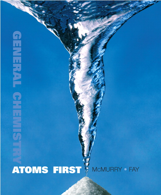 General chemistry atoms first john e mcmurry robert c fay