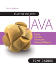 Starting Out with Java - Control Structures through Objects, 4/e