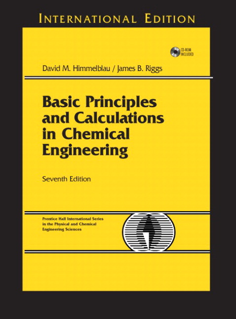 BASIC PRINAPLES AND CALCULATIONS IN CHEMICAL ENGIN EERING