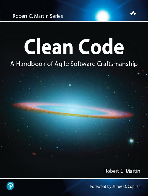 Book cover of Clean Code by Robert C. Martin