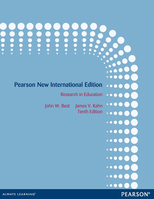 Research In Education By Best And Kahn Pdf
